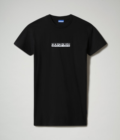 S-BOX W LONG BLACK 041