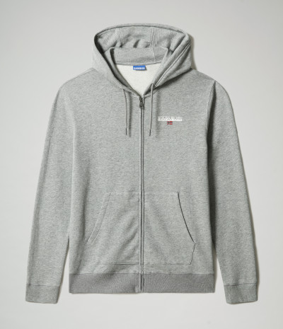 B-ICE FZH S MEDIUM GREY MELANGE